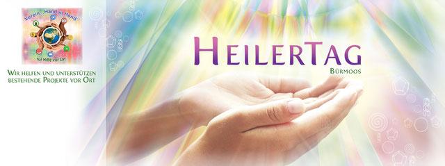 Heilertage Benifizveranstaltung Verein Hand in Hand Energetiker Alternative Heilmethoden
