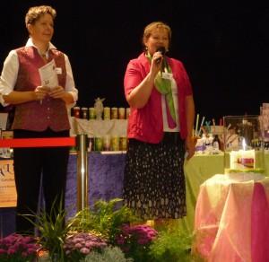 Eröffnung der Messe von Rose Harlander (r.i.B) und Andrea Pfleger
